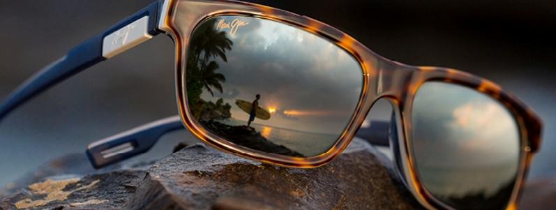 Maui Jim solbriller med charme, selvtillid og lækkert glas