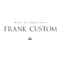 Frank Custom brillestel - logo - Optiker Roskilde