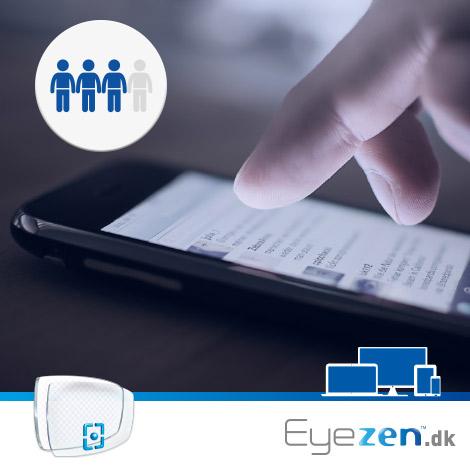 Eyezen -Glasset der matcher vores digitale liv